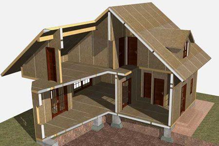 Строительство зданий на основе стеновых SIP панелей в Нижнем Тагиле