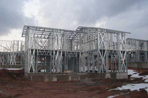 Здания на основе облегчённого металлического каркаса в Нижнем Тагиле